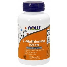 L-Methionine 500 mg 100 caps / Л-Метионин