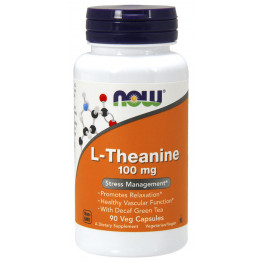 L-Theanine 100 mg 90 vcaps / Л-Тианин