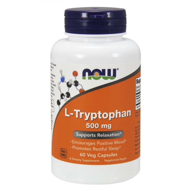 L-Tryptophan 500 mg 60 vcaps / Л-Триптофан