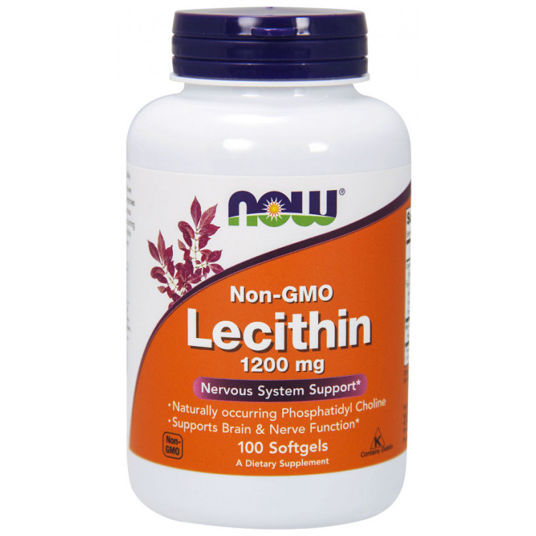 Lecithin 1200 mg 100 softgels / Лецитин