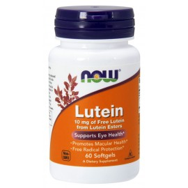 Lutein 10 mg 60 softgels / Лютеин