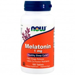 Melatonin 1 mg 100 tablets / Мелатонин