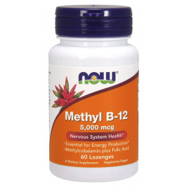 Methyl B-12 5000 mcg 60 Lozenges / Витамин Б-12