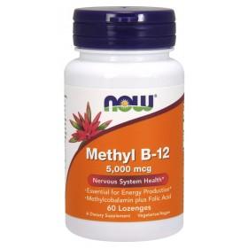 Methyl B-12 5000 mcg 60 Lozenges / Витамин Б-12