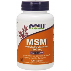 MSM 1500 mg 100 tab / МСМ - Метилсульфонилметан