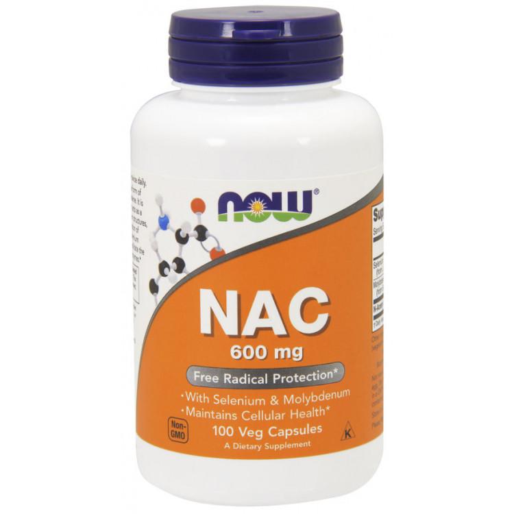 NAC 600 mg 100 vcaps / N-Ацетил Цистеин