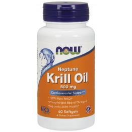 Neptune Krill Oil 500 mg 60 softgels / Масло Криля Нептун