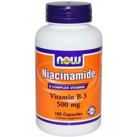 Niacinamide 500 mg 100 caps / Ниацинамид
