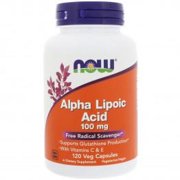 Alpha Lipoic Acid 100 mg Vitamin C and E 120 caps / Альфа-липоевая кислота