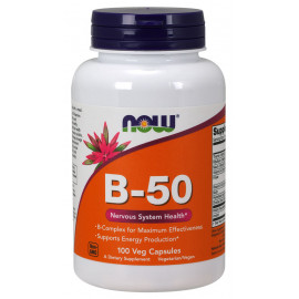 B-50 Complex 100 caps / Витамины группы Б комплекс