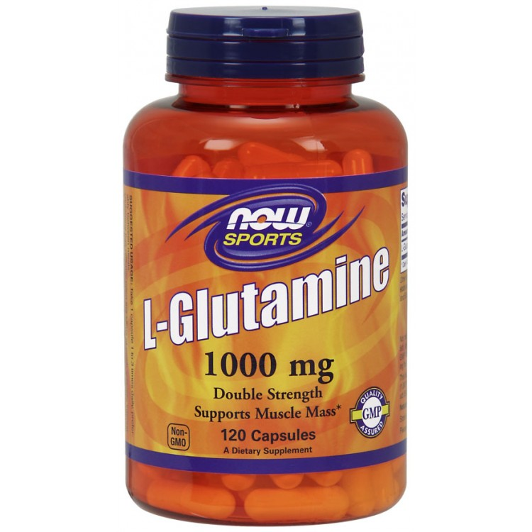 L-Glutamine 1000 mg 120 caps / Л-Глютамин