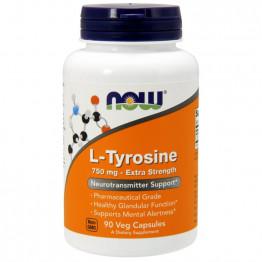 L-Tyrosine 750 mg 90 vcaps / Л-Тирозин