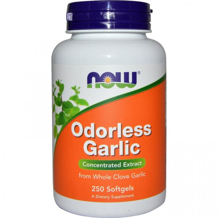 Odorless Garlic 250 softgels / Чеснок без запаха