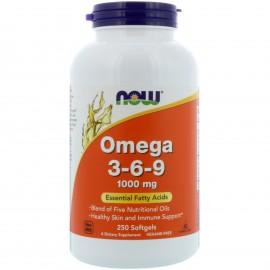 Omega 3-6-9 1000 mg 250 softgels