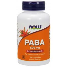 PABA 500 mg 100 caps / ПАБА - Парааминобензойная кислота
