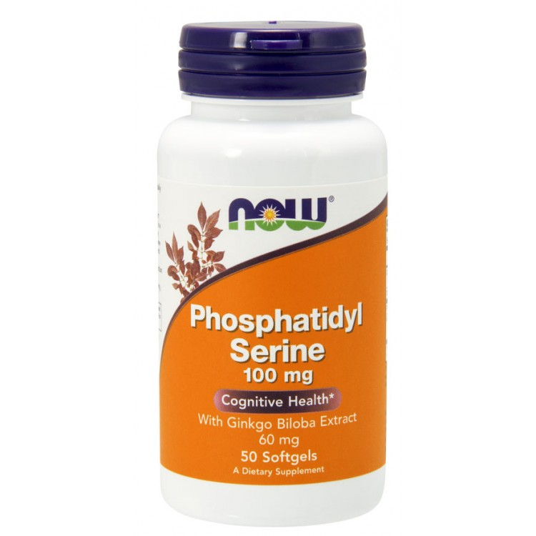 Phosphatidyl Serine 100 mg 50 vcaps / Фосфатидилсерин