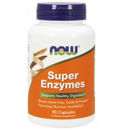 Super Enzymes 90 caps / Супер Энзимы
