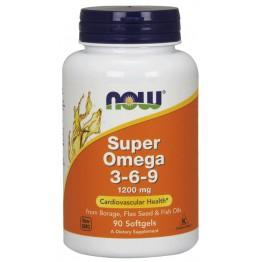 Super Omega 3-6-9 1200 mg 90 softgels / Омега 3-6-9