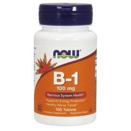 Vitamin B-1 100 mg 100 tab / Витамин Б-1 Тиамин