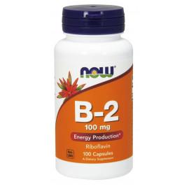 Vitamin B-2 100 mg 100 caps / Витамин Б-2 (Рибофлавин)