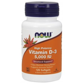 Vitamin D-3 5000 IU 120 softgels / Витамин Д-3