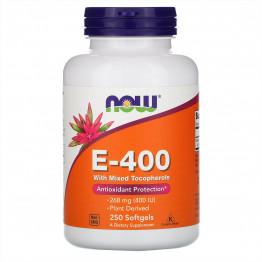 Vitamin E-400 250 softgels / Витамин Е
