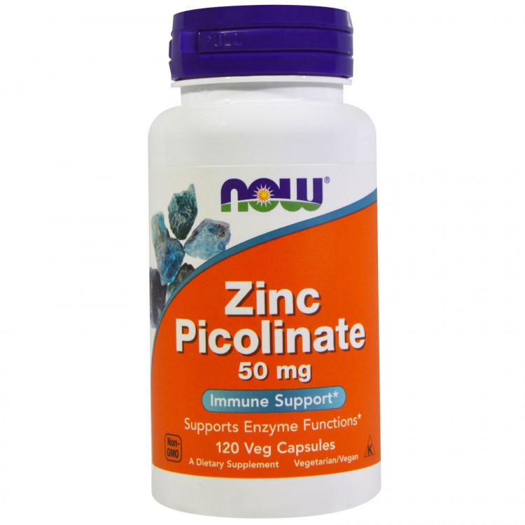Zinc Picolinate 50 mg 120 caps / Цинк