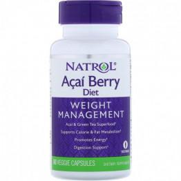Natrol Acai Berry Diet / Диетические ягоды асаи 60 капсул