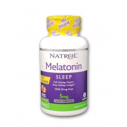 Melatonin Fast Dissolve Stawberry 5 mg 90 tab / Мелатонин