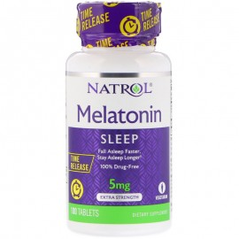 Melatonin Time Release 5 mg 100 tab / Мелатонин