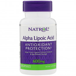 Alpha Lipoic Acid 600 mg 30 caps / Альфа-липоевая кислота