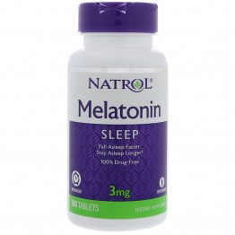 Melatonin 3 mg 100 tab / Мелатонин