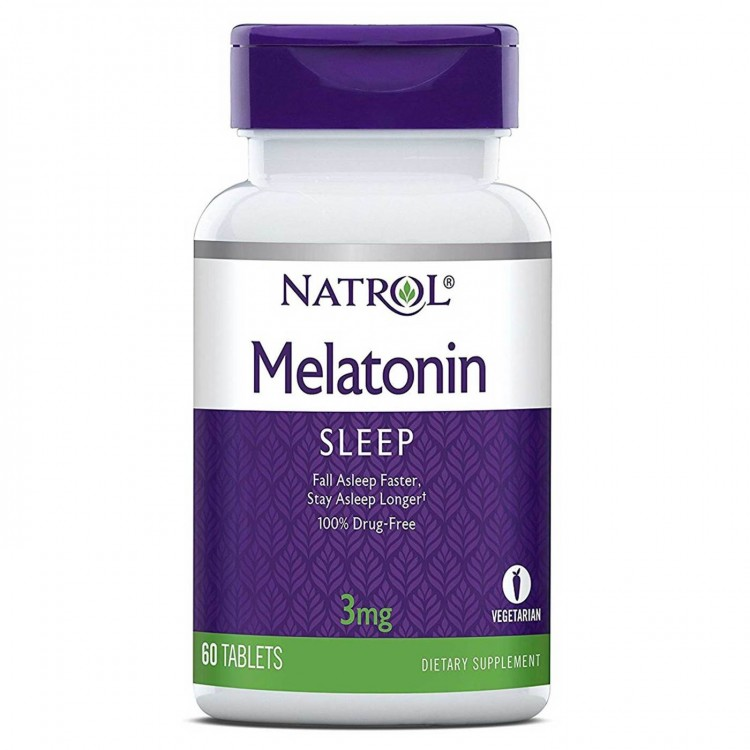 Melatonin 3 mg 60 tab / Мелатонин