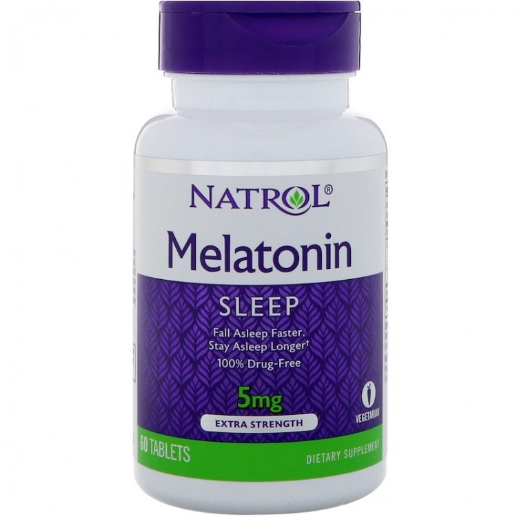 Melatonin 5 mg 60 tab / Мелатонин