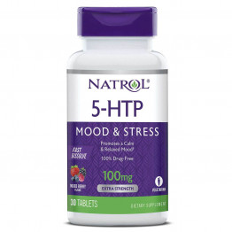 5-HTP Wild Berry Flavor 100 mg 30 tab