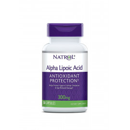 Alpha Lipoic Acid 300 mg 50 caps / Альфа-липоевая кислота