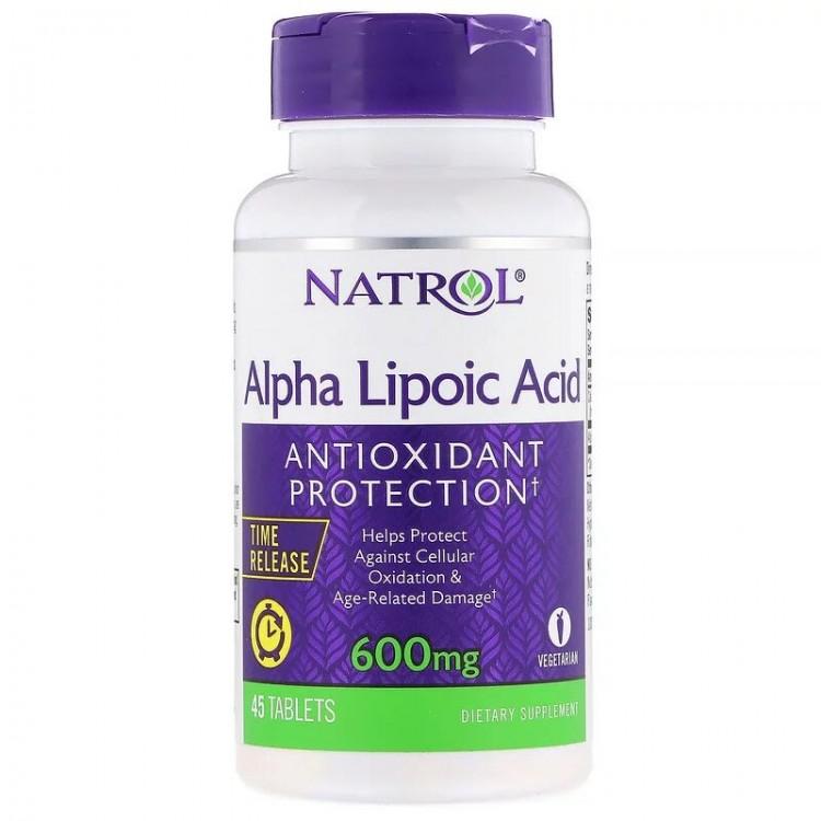 Альфа-липоевая кислота 600 мг 45 таблеток