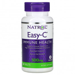 Natrol Easy-C 500 mg 60 Tablets / Витамин С