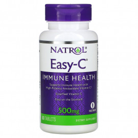 Natrol Easy-C 500 mg 60 Tablets / Витамин С