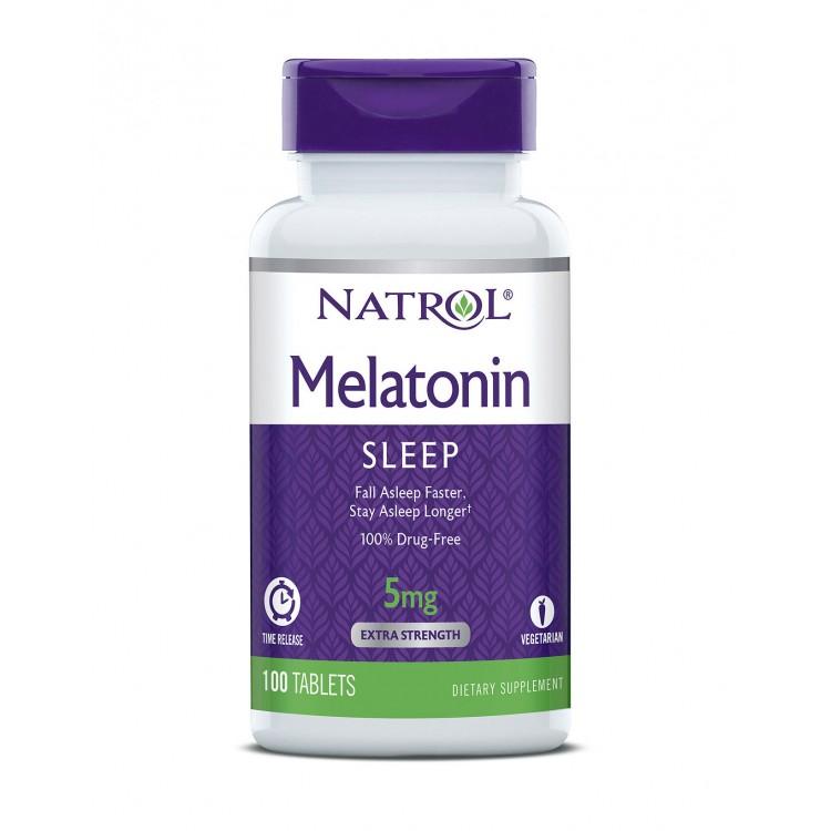 Melatonin Time Release 5 mg 100 tab