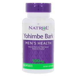 Yohimbe Bark 500 mg 90 caps / Йохимбе