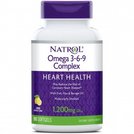 Omega 3-6-9 Complex 90 softgels / Омега 3-6-9