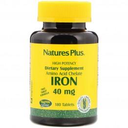 Iron / Железо 40 мг 180 таблеток