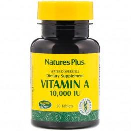Nature's Plus Vitamin A 10,000 IU / Витамин А 10000 МЕ 90 таблеток