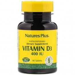 Nature's Plus Vitamin D3 400 IU  / Витамин D3 180 таблеток
