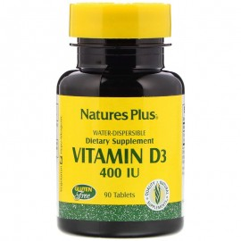 Nature's Plus Vitamin D3 400 IU  / Витамин D3 180 таблеток