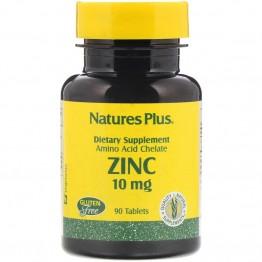 Nature's Plus Zinc 10 mg / Цинк 10 мг 90 таблеток