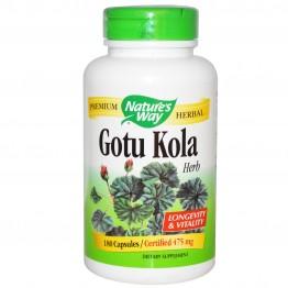 Gotu Kola 475 mg 180 vcaps / Готу Кола