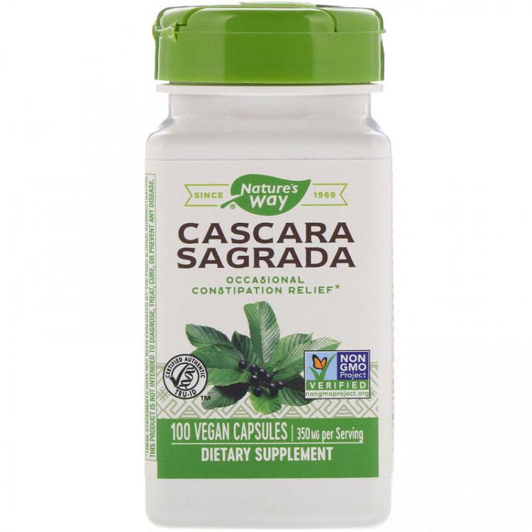 Cascara Sagrada 350 mg 100 vcaps / Каскара Саграда