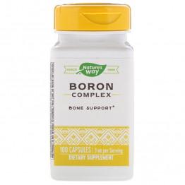 Nature's Way Boron Complex / Борный комплекс 3 мг 100 капсул